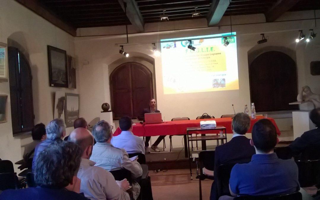 27 aprile 2018. Calore rinnovabile dal cippato per i comuni montani della Toscana e del Centro Italia. Galleria fotografica