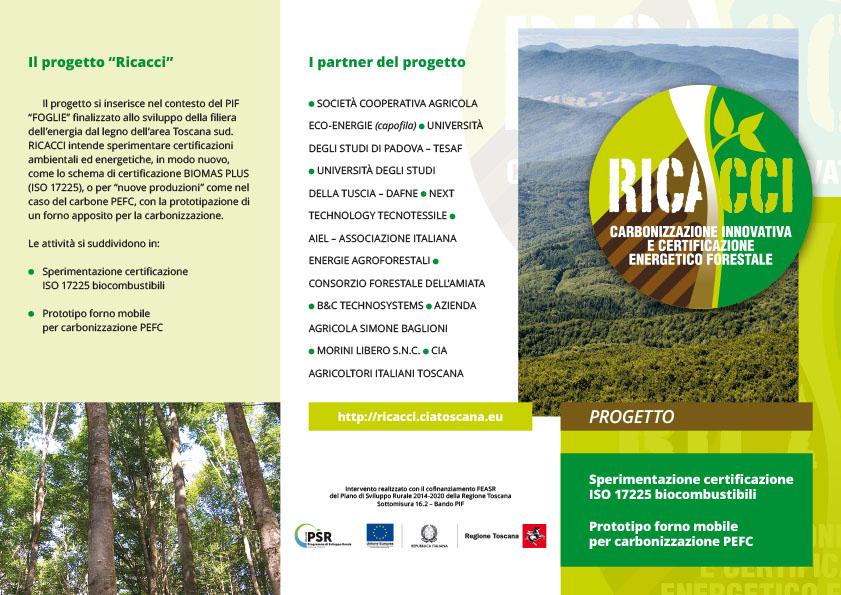 Progetto RICACCI. La brochure